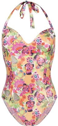 Christian Dior Pre-Owned Floral Print Swimsuit