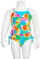 Gossip Girl Little Girls Size Hi-tech Color Pop Color Swimsuit