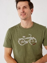 White Stuff Bike words graphic tee