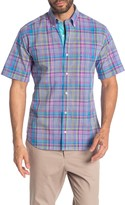 Tailorbyrd Plaid Short Sleeve Regular Fit Shirt