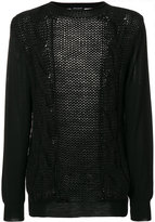 Balmain loose knit pullover