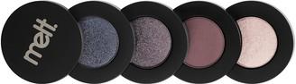Melt Cosmetics Gun Metal Eyeshadow Palette Stack