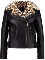 Dorothy Perkins Faux leather jacket black