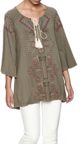 POL Embroidered Chic Tunic