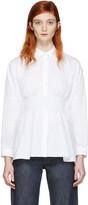 MM6 MAISON MARGIELA White Poplin Parachute Shirt