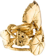 Aurelie Bidermann Lily Pad Ring