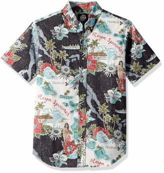 Reyn Spooner Men's Spooner Kloth Tailored Fit Hawaiian Shirt