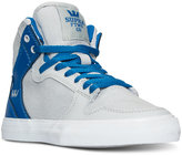 Supra Boys' Vaider Casual Skate High Top Sneakers from Finish Line