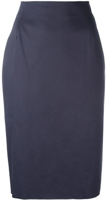 Tomas Maier High-Waisted Pencil Skirt