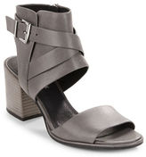 Kenneth Cole New York Chara Leather Open-Toe Sandals