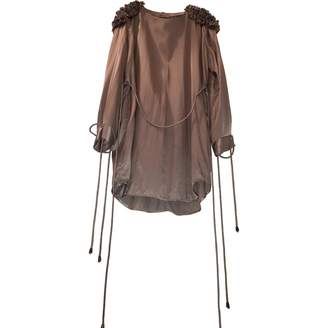 Preen Grey Silk Dresses