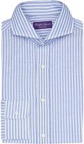 Ralph Lauren Purple Label Keaton slim-fit linen and cotton-blend shirt