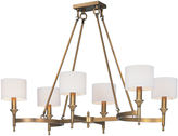 One Kings Lane Fairmont 6-Light Chandelier, Brass
