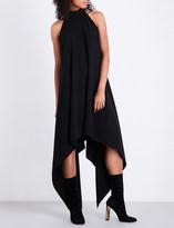 Gareth Pugh Asymmetric crepe dress