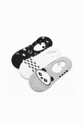 Ardene Pack of Panda Shoe-liners