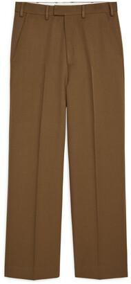 Arket Wide Wool Trousers