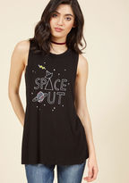 ModCloth Satellite-Hearted Tank Top in S