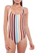 rhythm Women's Stripe One-Piece Swimsuit