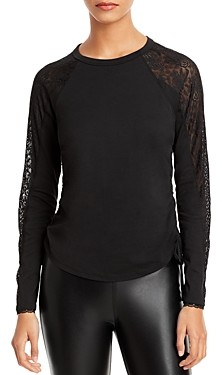 Jonathan Simkhai Standard Raglan Sleeve Top