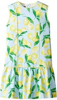 Oscar de la Renta Childrenswear - Painted Lemons Cotton Drop Waist Dress Girl's Dress