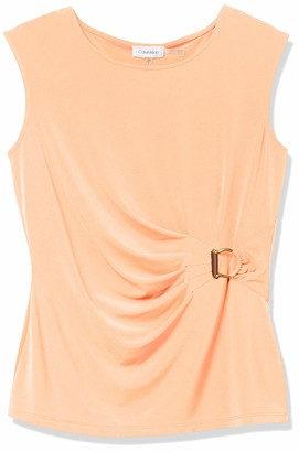 Calvin Klein Women's Sleeveless Solid Top
