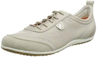 Geox D Vega A, Women's Low-Top Sneakers, Beige (Lt Taupec6738), 3 UK ( EU)