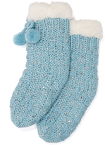 Peter Alexander peteralexander Girls Chunky Sequin Socks