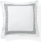 Southern Living Greek Key Embroidered Square Pillow