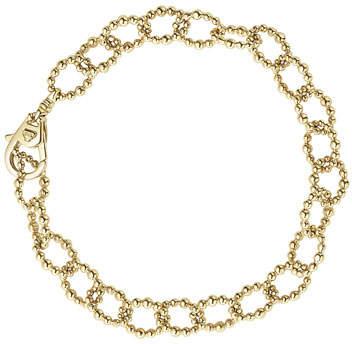 Lagos Medium 18K Gold Caviar Fluted Link Bracelet