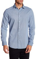 Ganesh Long Sleeve Modern Fit Printed Shirt