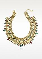 Erickson Beamon Matador Gold-Plated Crystal Necklace