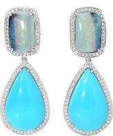 DANA REBECCA DESIGNS Courtney Lauren Boulder Opal Earrings