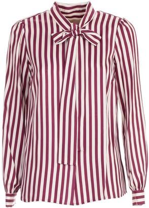 MICHAEL Michael Kors Shirt L/s W/knot On Neck Foulard Fantasy