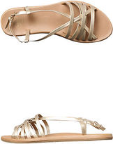 Freewaters New Women's Womens Hurachay Sandal Synthetic Gold