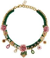 Dolce & Gabbana - Collier vert 'DG