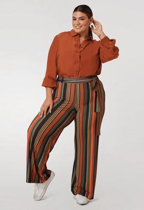Marée Pour Toi Maree Pour Toi The Stripe Pant Size 14 Polyester