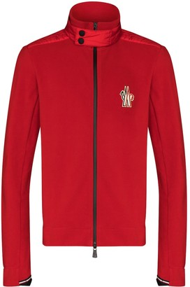 MONCLER GRENOBLE Logo-Embroidered Zip-Up Track Jacket