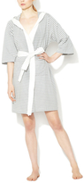 Striped Hooded Robe