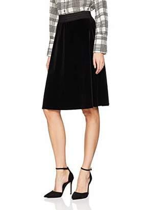 S'Oliver Women's 14.811.78.2887 Skirt, (Black 9999), 16 (Size: )
