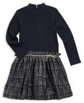 Tartine et Chocolat Toddler's & Little Girl's Knitted Long Sleeves Dress