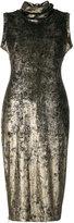 Antonio Marras turtle neck tubular dress - women - Polyester/Spandex/Elastane - 40