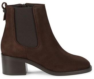 Aquatalia Textured Heeled Boots