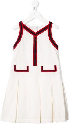 Gucci Kids Pleated Dress