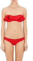 Lisa Marie Fernandez Women's Natalie Bonded Neoprene Bikini-RED