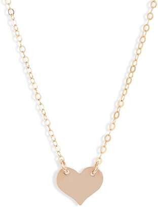 Set & Stones Jenny Heart Necklace