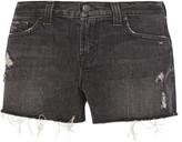 J Brand 1158 cut-off denim shorts