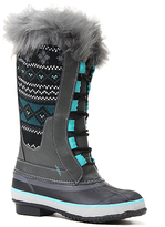 Western Chief Teal Speed Lace-Up Knit Boot