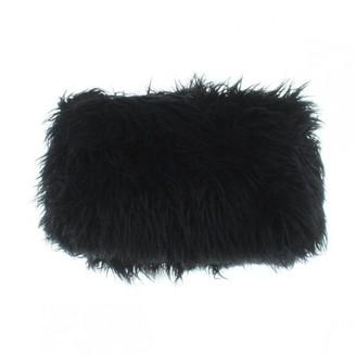 Dries Van Noten Black Fur Clutch bags