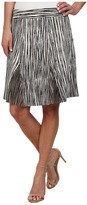 Nic+Zoe Scattered Lines Skirt