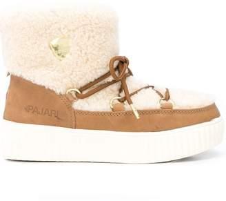 Pajar shearling zip-up boots